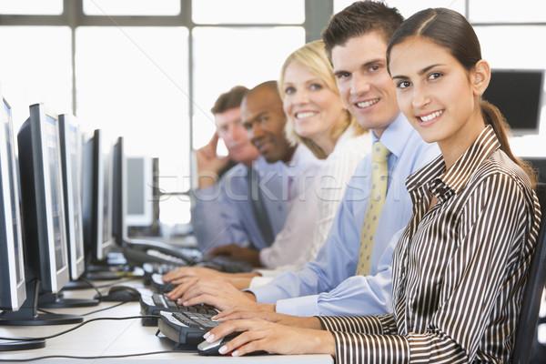 チーム 在庫 作業 ビジネス 作業 金融 ストックフォト © monkey_business