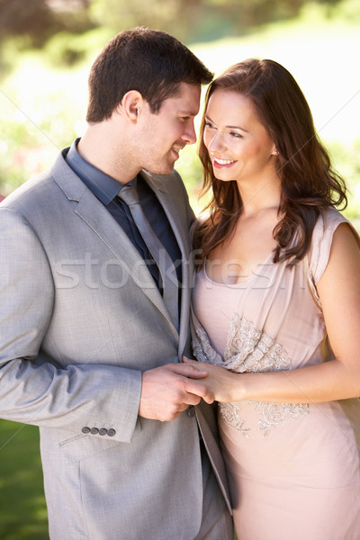 Smartly Dressed Young couple in park Stock photo © monkey_business