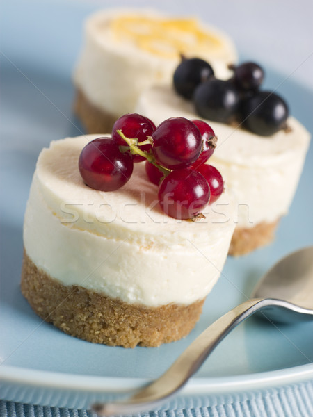 Trio of Individual Cheesecakes Stock photo © monkey_business