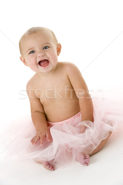 Baby in tutu Stock photo © monkey_business