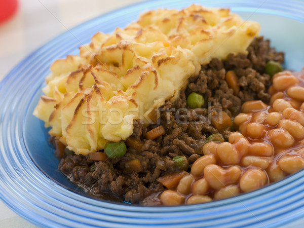 Cottage Pie and Baked Beans Stock photo © monkey_business