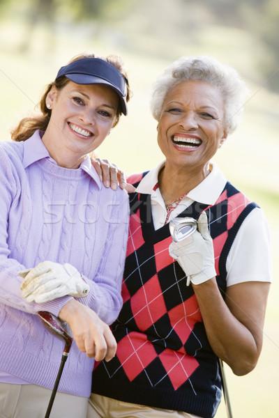 Portrait Of Two Female Golfers Stock photo © monkey_business