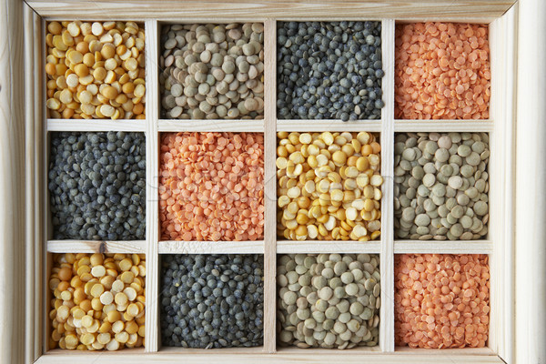 Selection Of Pulses Stock photo © monkey_business