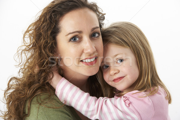 Portrait Of Cuddling Mother And Child Stock photo © monkey_business