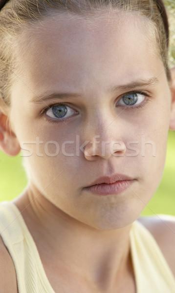 Portrait Of Pre-Teen Girl Stock photo © monkey_business