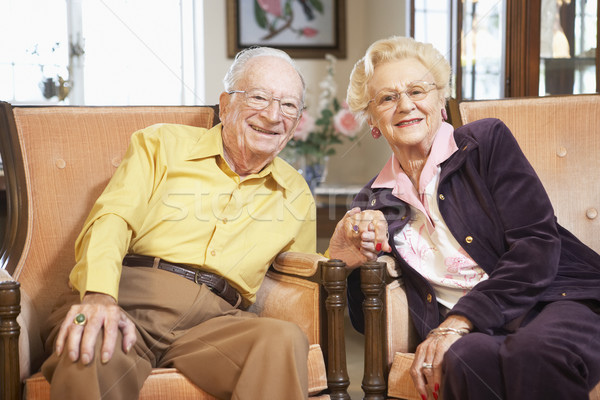 Senior couple holding hands Stock photo © monkey_business