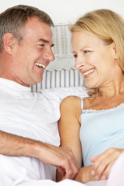 Mid age couple in love Stock photo © monkey_business
