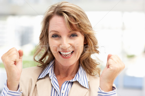 Successful mid age businesswoman Stock photo © monkey_business