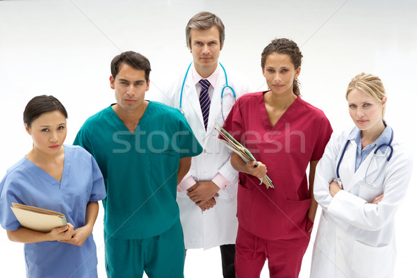 Сток-фото: группа · медицинской · профессионалов · женщины · работу · больницу