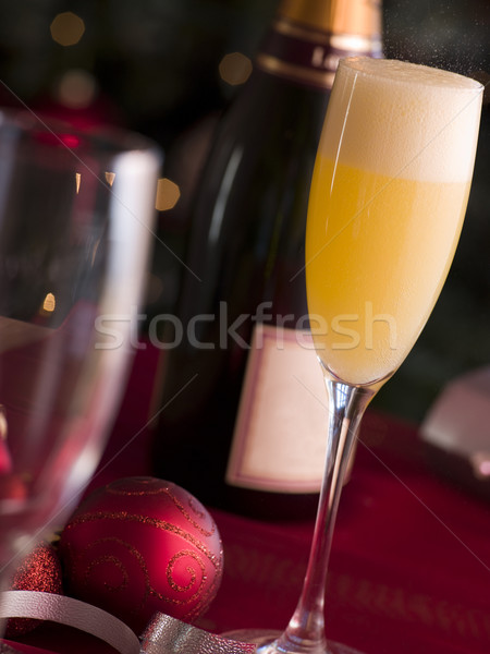 Glass of Bucks Fizz Stock photo © monkey_business