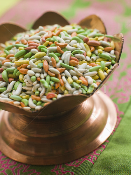 Dish of Sugared Fennel Seeds Stock photo © monkey_business