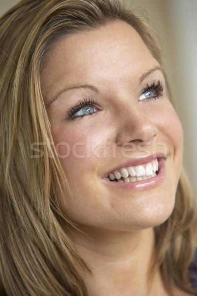 Portrait Of Teenage Girl Smiling Stock photo © monkey_business