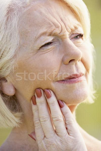 senior,portrait,Woman,Sixties,Cheerful,Happy,Smiling,Friendly,Ha Stock photo © monkey_business