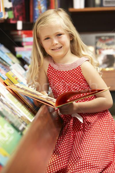 Joven librería negocios nina nino compras Foto stock © monkey_business