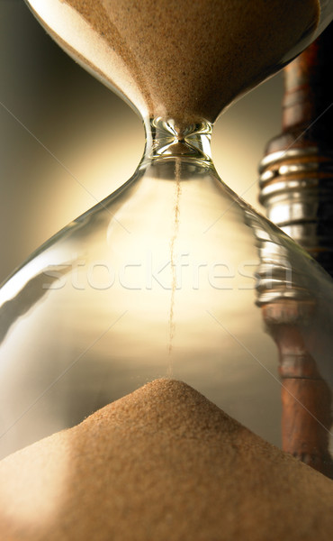 Hour glass areia conceito Foto stock © monkey_business