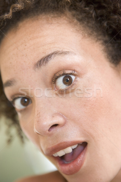 Head shot of surprised woman Stock photo © monkey_business