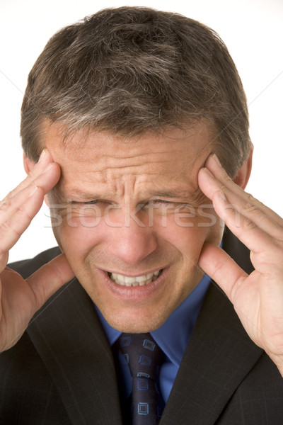 Businessman With Headache Stock photo © monkey_business