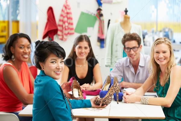 Meeting In Fashion Design Studio Stock photo © monkey_business