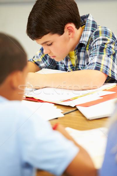 Eğitim sınıf çocuklar kitap eğitim Stok fotoğraf © monkey_business