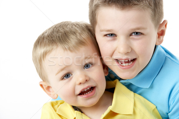 Portrait Of Two Young Boys Stock photo © monkey_business