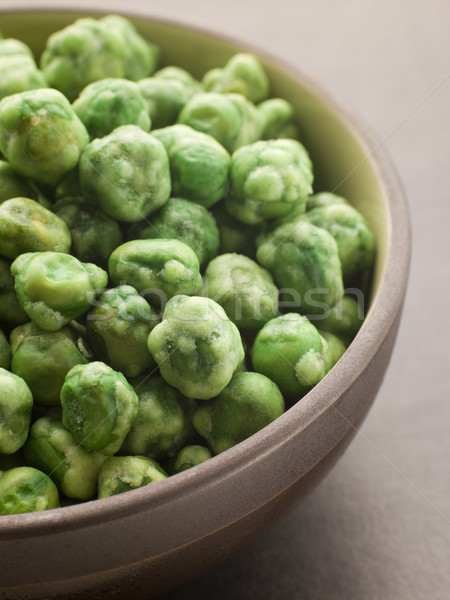 Bowl of Dried Wasabi Peas Stock photo © monkey_business
