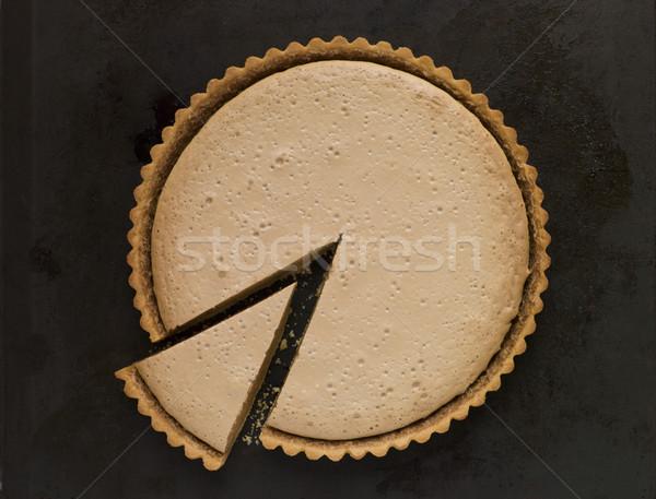 Whole Gypsy Tart with a Slice Stock photo © monkey_business