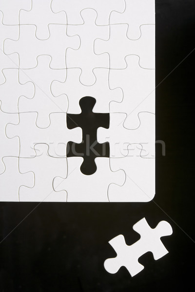 Puzzle With Piece Removed Stock photo © monkey_business
