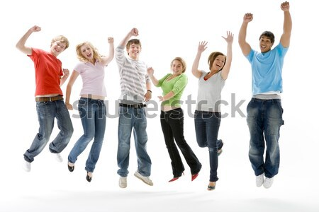 Group Of Teenage Girlfriends Stock photo © monkey_business
