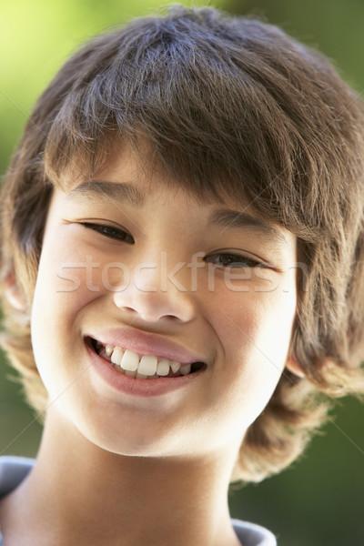 Retrato menino sorridente crianças adolescente pessoa Foto stock © monkey_business