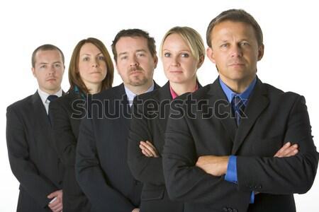 Squadra uomini d'affari business donne uomini gruppo Foto d'archivio © monkey_business