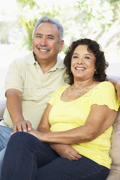 Senior Couple Relaxing At Home Together Stock photo © monkey_business