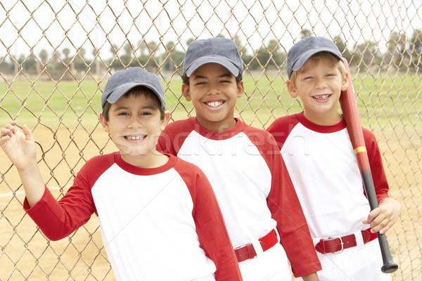 Young Boys In Baseball Team Stock photo © monkey_business