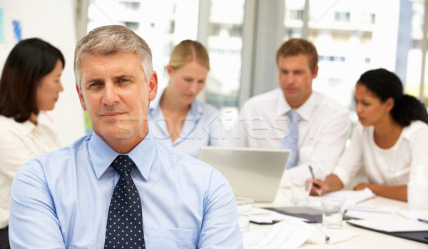 Recruitment office meeting Stock photo © monkey_business