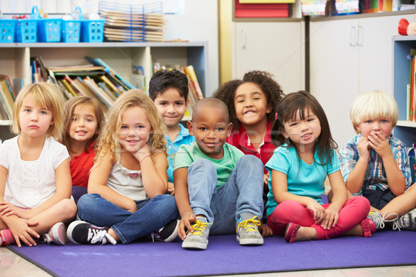 Grupo elemental aula escuela nino Foto stock © monkey_business