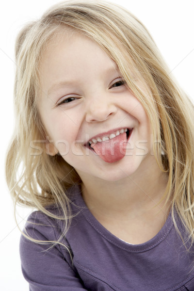 Portrait Of Smiling 4 Year Old Girl Stock photo © monkey_business