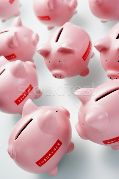 Accumulation Of Piggy Banks Stock photo © monkey_business