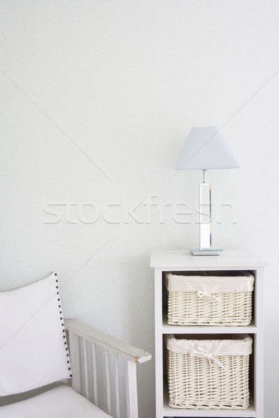 Canvas Chair And Storage Unit Stock photo © monkey_business