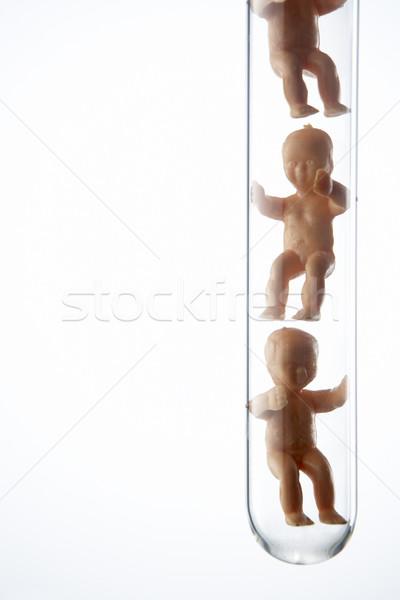 Baba teszt csövek gyógyszer tudomány szín Stock fotó © monkey_business