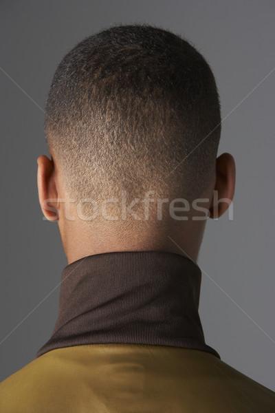 Ver de volta adolescentes cabeça cara retrato cor Foto stock © monkey_business
