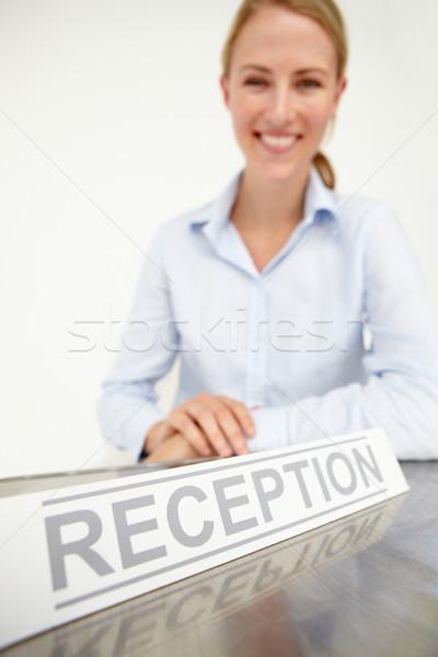 Female receptionist Stock photo © monkey_business