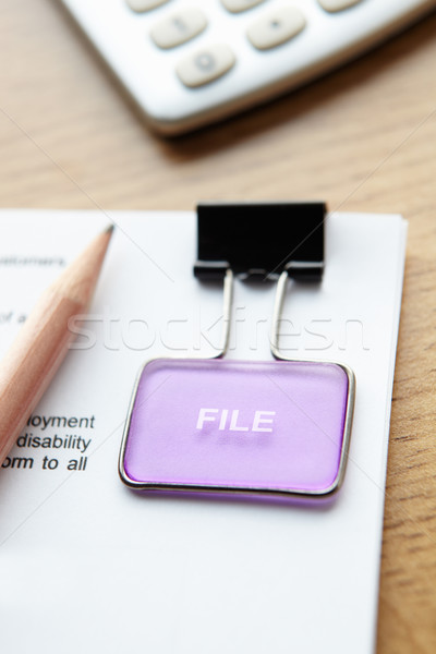 Document to be filed Stock photo © monkey_business