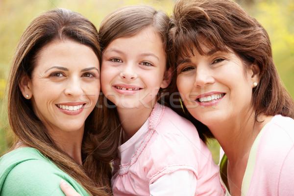 3 generations Hispanic women Stock photo © monkey_business
