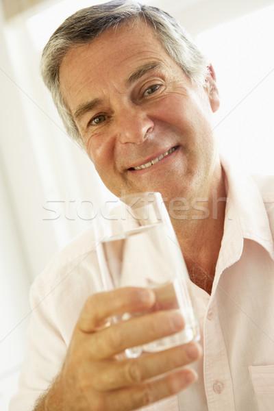 ストックフォト: 水 · ホーム · ガラス · ドリンク
