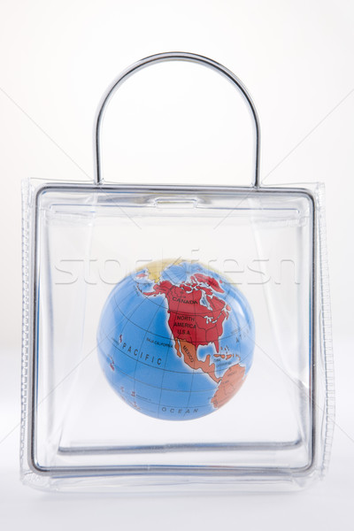 Globe In A Plastic Bag Stock photo © monkey_business