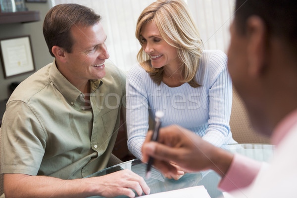 Couple in consultation at IVF clinic Stock photo © monkey_business