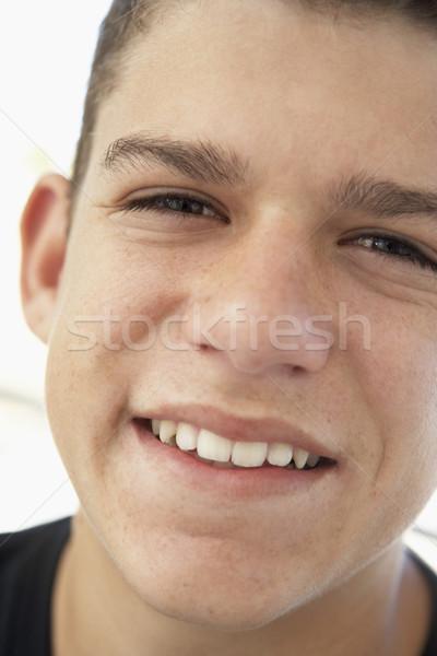 Portrait Of Teenage Boy Smiling Stock photo © monkey_business