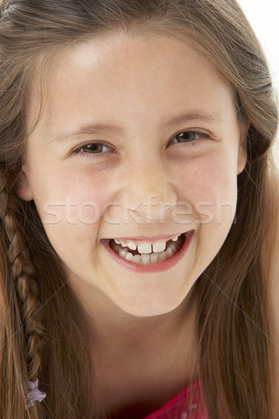 Studio Portrait of Smiling Girl Stock photo © monkey_business