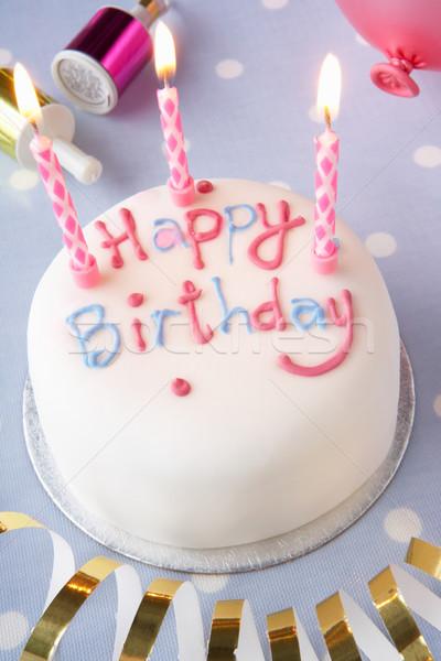 A birthday cake Stock photo © monkey_business