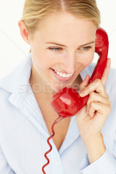 Woman talking on telephone Stock photo © monkey_business
