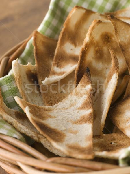 Basket of Melba Toast Stock photo © monkey_business